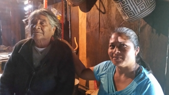 In this part of Oaxaca, many of the elderly have been completely abandoned by their families. Maybe the majority of an entire generation has picked-up and left never to return. Senen and his wife Bernadita are some of the only people who are willing to go and care for the elderly outside of their own family.