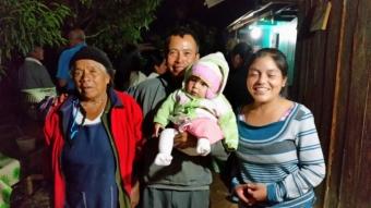 Tia Martha and Eugenio's family.